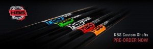 New KBS Shafts Custom Lab