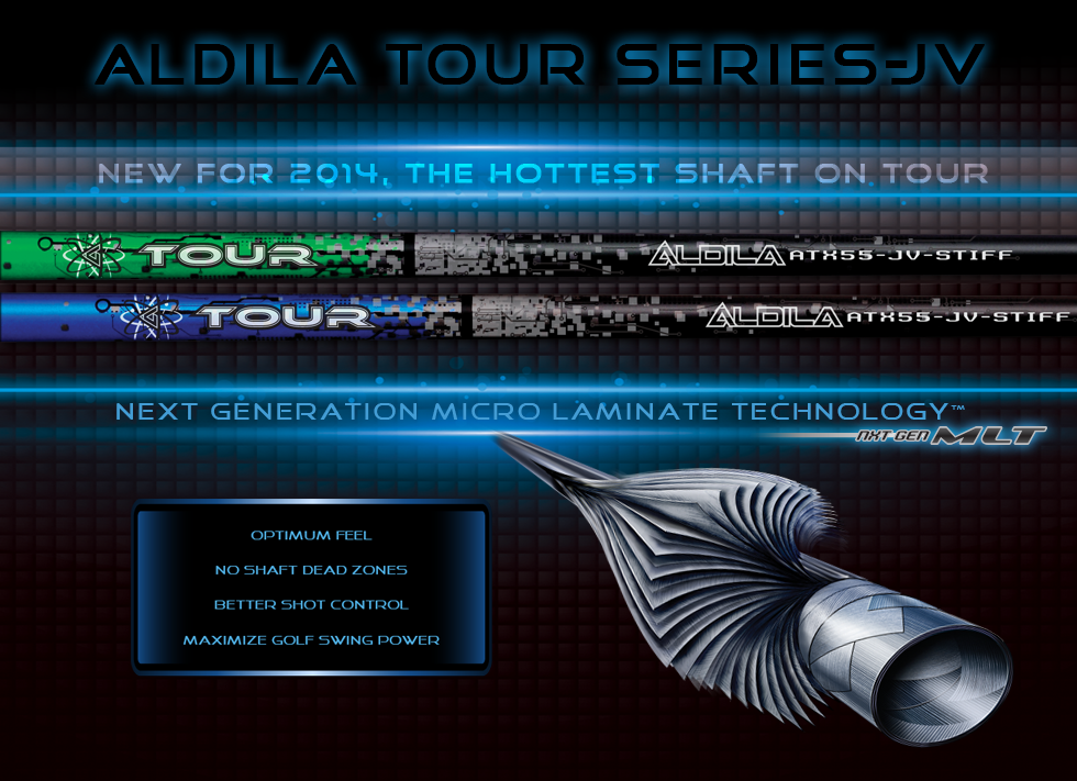 New high-end Aldila Tour Blue and Green line killing it on tour