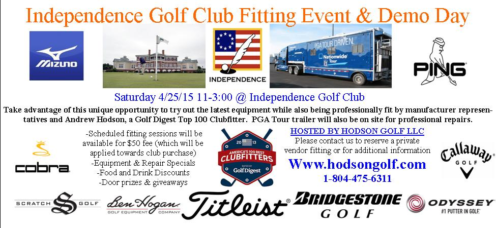 Richmond Virginia's most unique golf Demo Day Fitting Event getting even bigger