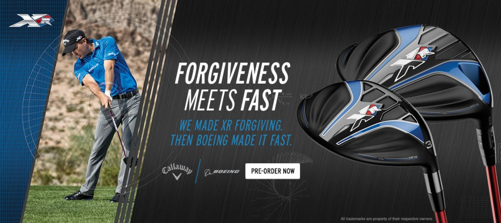 New Callaway XR 2016 lineup blew away (and blew/flew over) the competition this weekend!