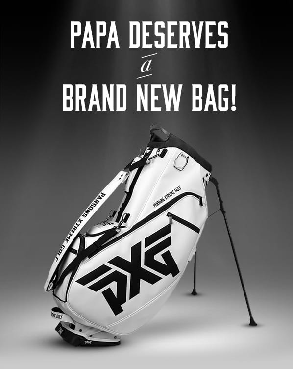 New PXG stand bags now available