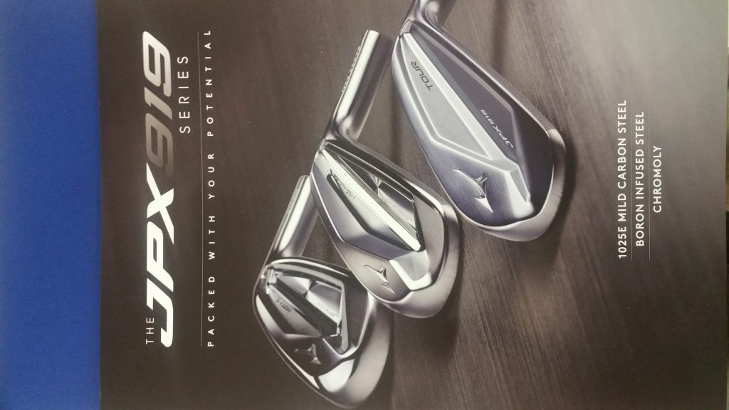 The much anticipated new Mizuno JPX 919 iron line will be available for custom fittings next week through Hodson Golf