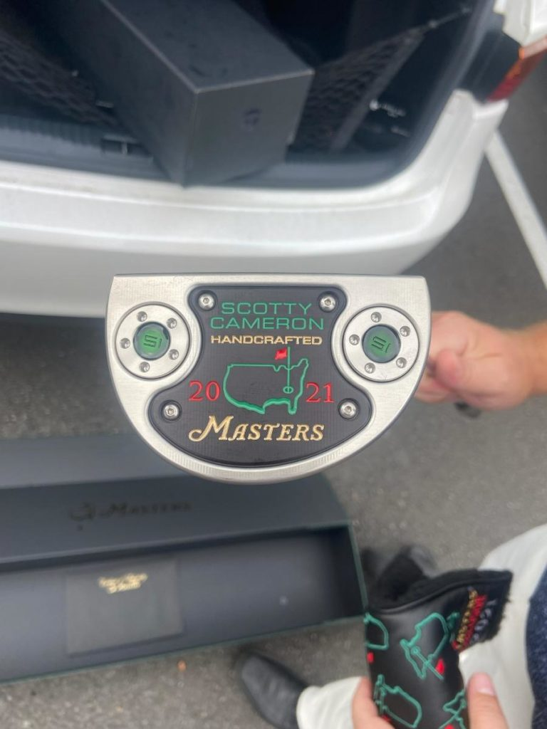 Read more about the article Very Limited 2021 Scotty Cameron – Masters Edition Putter available for purchase